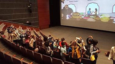 Alunos finalistas das escolas do concelho foram ao cinema